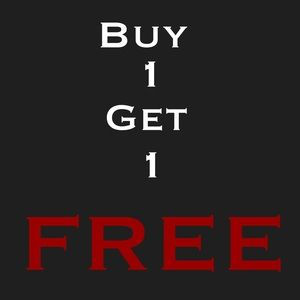 BUY 1 GET 1 FREE Spring Break Clearance BOGO Sale